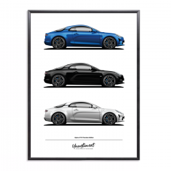 Poster of Alpine A110...