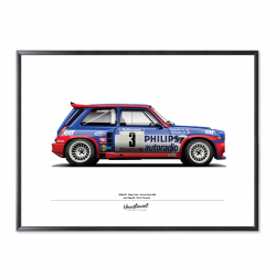 Poster of Renault 5 Maxi...