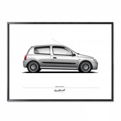 Poster of Renault Clio 2 RS...