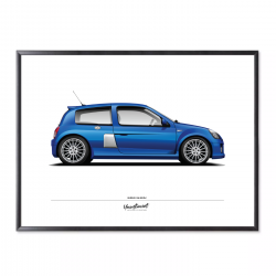 Poster of Renault Clio V6...