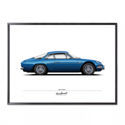 Poster of Alpine A110 1600...